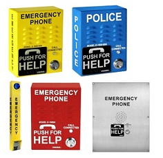 Emergency Call Box and Phones
