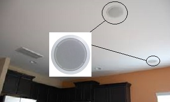 Ceiling Tile Speakers