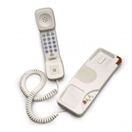Teledex Trimline II Two Line Hotel Phone IPN34159