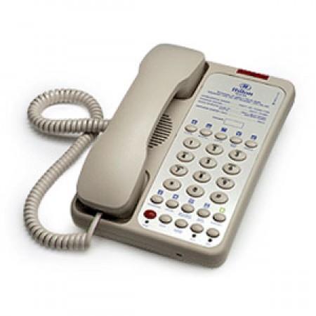 Teledex Opal 1010S (OPL76339) - Single Line Speaker Hotel Phone (Ash)