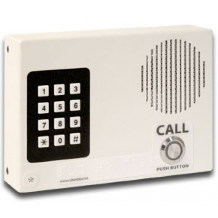 In Wall VoIP Intercom with Keypad 011113