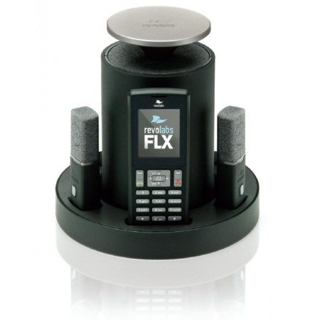 FLX Wireless VoIP SIP Conferencing System 2 Omni Mics