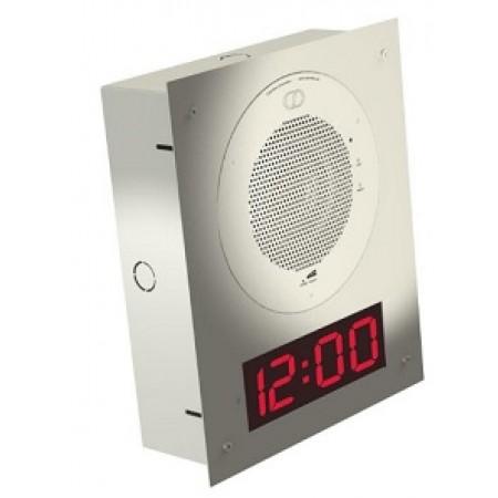 Cyberdata White Speaker Flush Mount Adapter for Clock Kit 11107