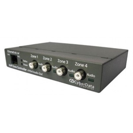Cyberdata VoIP 4-Port Zone Paging Controller 11171
