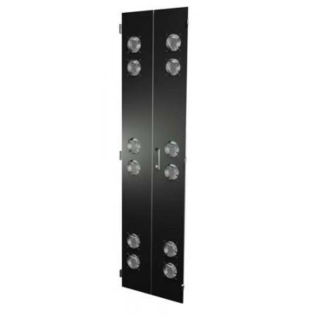 Split Fan Door set for 48″H x 24″W Frame