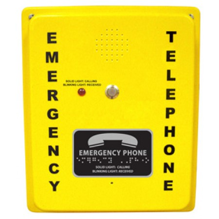Rath Security Analog Yellow Callbox 2400-886DA