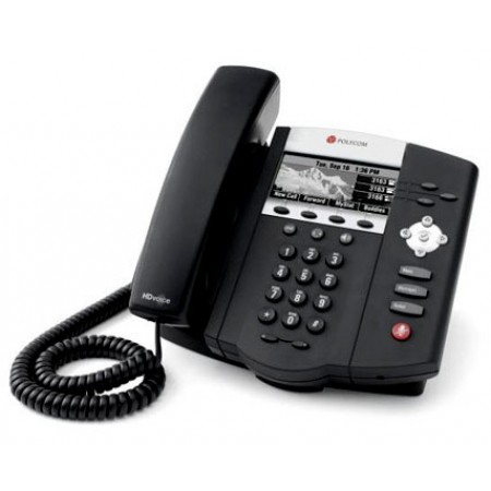 SoundPoint IP 450  3 Line SIP Phone with Polycom HD Voice