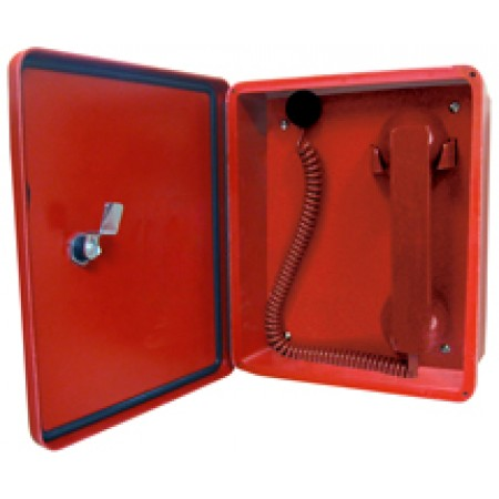 Heavy Duty Enclosure Power Direct Handset 2300-614RD