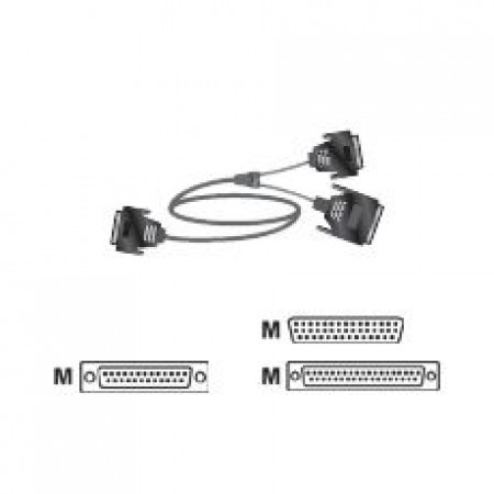 Polycom Serial Cable RS-530 with RS-366 for HDX Series
