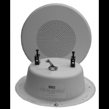 Quam In Wall Speaker System (White 70.7V)