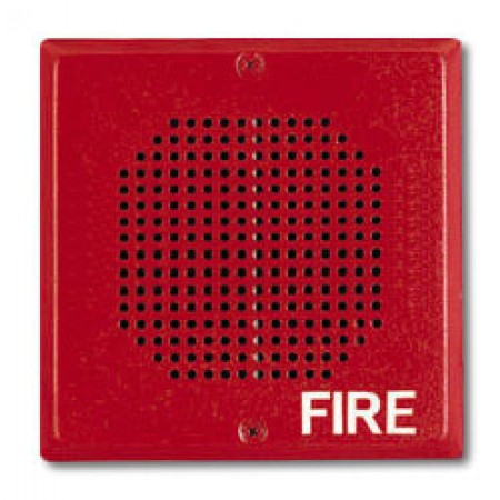 Red Wall/Ceiling Mount Chime, 24 VDC | CH70-24-R