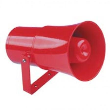 WeatherProof Multitone Horns 108 dBA, 24 VDC, Red finish   DB3UL048N2CNRZ