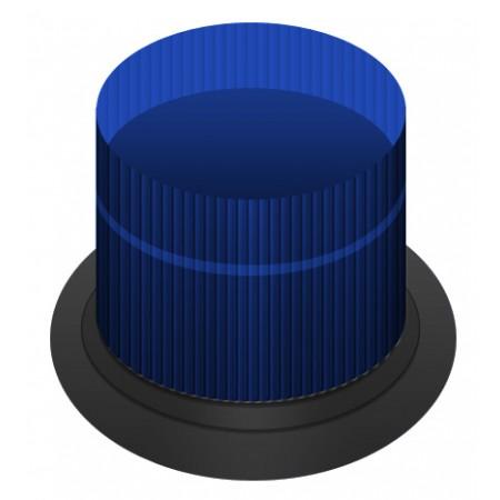 Blue DC MAX Strobe 10.5 - 31.0 VDC Double Flash