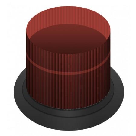 DC MAX Strobe 10.5 - 31.0 VDC Double Flash | DC-MAX-R