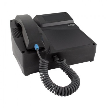 Industrial Desktop/Wall Mount Ring Down Telephone with Curly Handset Cord