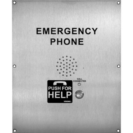 Viking Flush Mount Emergency Phone E-1600-02-IPEWP