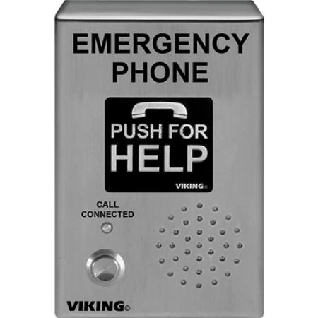 Viking VoIP Emergency Phone Weather Proof E-1600-03-IPEWP
