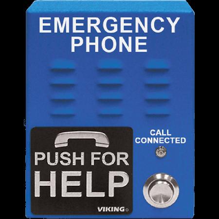 Viking Blue VoIP Emergency Phone E-1600-65-IP-EWP