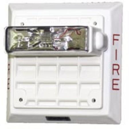 White ET80 Vandal Resistant Speaker Strobe 135/185   ET80-24MCWH-FW