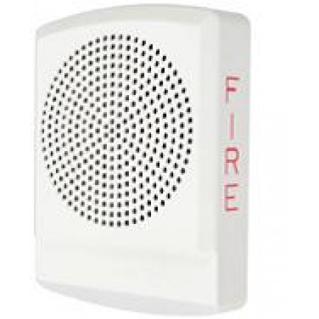 LED High Fidelity Speaker, White Alert Lettering