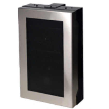 Quam In Wall Speaker System 25V with Stainless Frame
