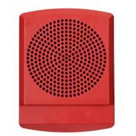LED High Fidelity Speaker Red No Lettering