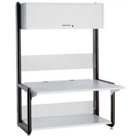 Advantage A1 Computer Desk  with leveling glides