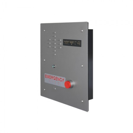 Heavy Duty Emergency Recessed Telephone with Two Auxiliary Relays