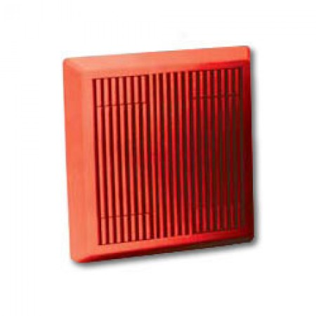 Red 24VDC 4 Wire Horn for Evacuation | HS-24-R