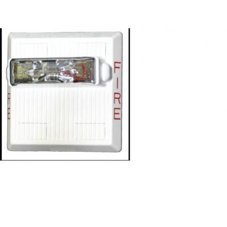 HS4 Series White Horn Strobe 24VDC 15/30/75/110 | HS4-24MCW-FW