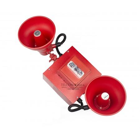 Wheelock Red Cluster Speakers