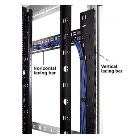 "Vertical Lacing Bar for 84""H enclosure 