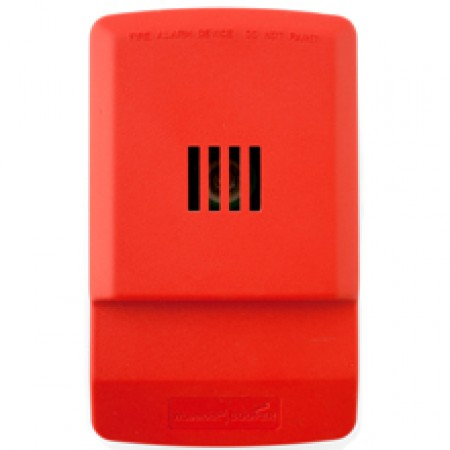 Red Wall Mount Exceder Evacuation Horn 24 VDC | LHNR3