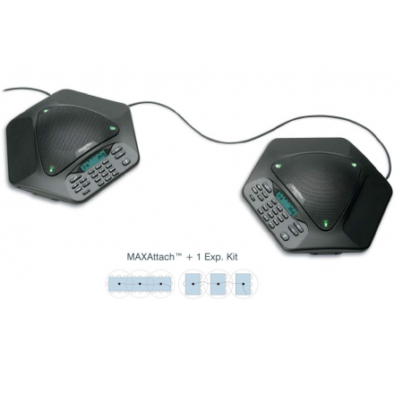 Clear One MAXAttach Expandable Tabletop Conferencing phone +1 Exp. Kit
