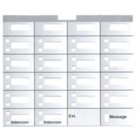 Partner 18 Telephone Designation Strips (10/pk.)