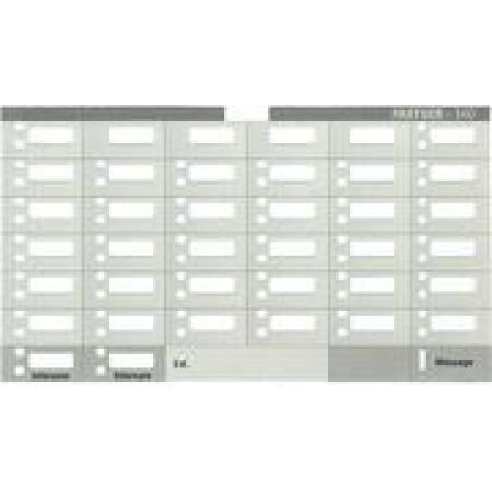 Partner 34D Telephone Designation Strips (10/pk.)