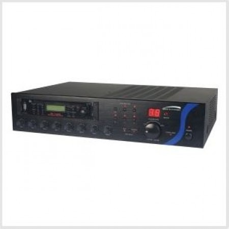 Speco PBM120AT 120W RMS P.A Amplifier  with AM/FM Tuner