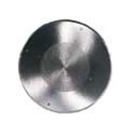 "13"" Round Polished Aluminum Ceiling Speaker Grille"
