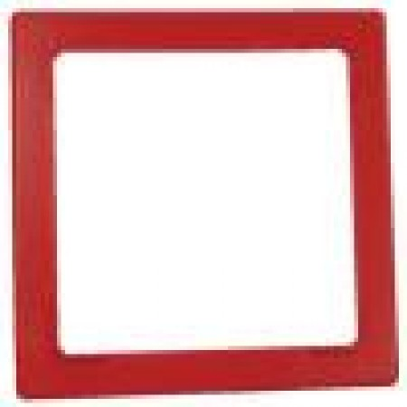 Red Notification Appliance Trim Plate | NATP-R