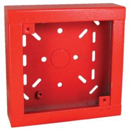 Red Shallow Surface Back Box  | SHBB-R