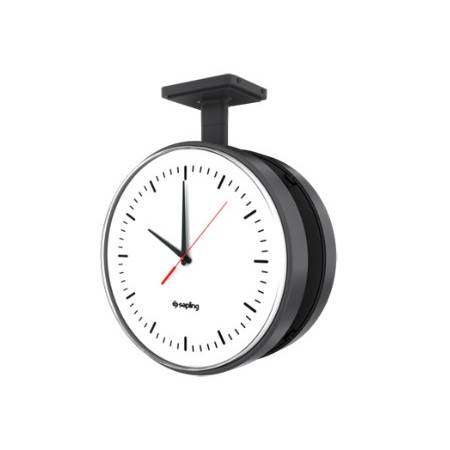 "Sapling 12"" Wireless Talkback School Clock (custom Case)"