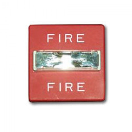 Wheelock Red Wall Mount RSS Series Fire Alarm Strobe