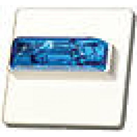 WHEELOCK BLUE LENS, SELECTABLE 15/30/75/95 CD | RSSB-24MCC-NW