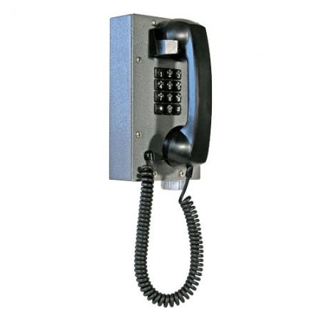 Industrial Steel Telephone with Waterproof Teleseal Keypad for Hazardous Area