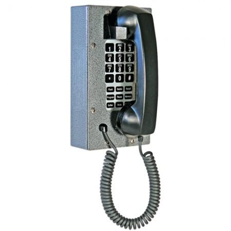 Industrial Steel Telephone with Waterproof Membrane Keypad