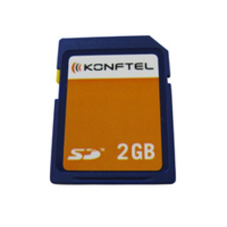 SD Memory card 2GB for Konftel Conference Phones