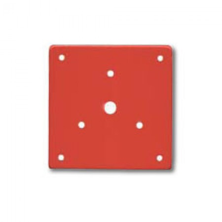 Red Adapter Plate to Mount the STH15SR to a Series RSSP Strobe Mounting Plate | SHMP-R