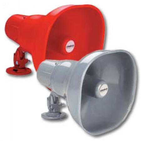 Silver Aluminum Weatherproof 15 Watt Horn Loudspeaker | STH-15S