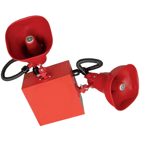 Grey Cluster Speaker System with 2 Horns