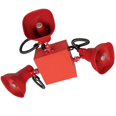 Wheelock Cluster Speaker System with Three Horns | STH-3R